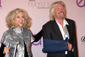 Blythe Danner & Sir Richard Branson — Stock Photo