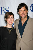 Miriam Shor, Josh Hopkins — Stock Photo