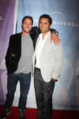 Taylor Kinney & Cliff Curtis — Stock Photo
