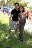 Steve Richard Harris & Kate Linder — Stock Photo