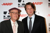 Geoffrey Rush, Tom Hooper — Stock Photo