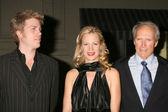 Alison Eastwood, Clint Eastwood, Marcia Gay Harden — Stock Photo