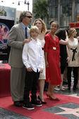 David E Kelley, Michelle Pfeiffer & Family — Stock Photo
