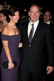 Pery Ellen Berne & HSH Prince Albert II of Monaco — Stock Photo