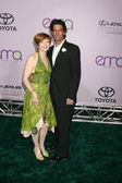 Frances Fisher & Guest — Stock Photo