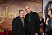 John Lasseter, Roy Conli — Stock Photo