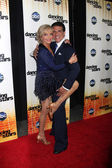 Florence Henderson & Corky Ballas — Stock Photo