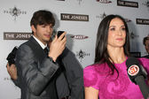 Ashton Kutcher, Demi Moore — Stock Photo
