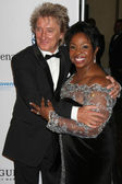 Rod Stewart, Gladys Knight — Stock Photo