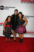 Daniella Baltodano, Eva Longoria, Madison De La Garza — Stock Photo