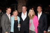 Brad Bell, Lee Bell, Eric Braeden, Laurelee Bell, Bill Bell Jr — Stock Photo