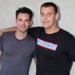 Jason Thompson & Ingo Rademacher — Stock Photo #12988493
