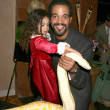 Kristoff St John, his daughter Lola - Stock fotografie
