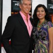 Michael Buffer & Guest — Stock Photo