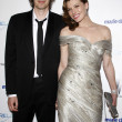 Paul W.S. Anderson, Milla Jovovich — Stock Photo