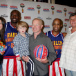ストック写真: Big Easy, Neal McDonough & Family, Flight Time