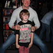 Caleb Guss (Young Jason 2009) & Derek Mears (Jason 2009) — Stock Photo