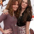 Lea Thompson &  daughter Zoey Deutch — Stock Photo