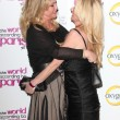 Kathy Hilton, Kim Richards — Stock Photo