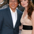 Masi Oka, Girlfriend — 图库照片