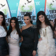 Kendall Jenner, Kourtney & Kim Kardashian, Kylie Jenner, Khloe K — Stock Photo