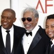 Постер, плакат: Forest Whitaker Morgan Freeman and Cuba Gooding Jr