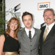 Aaron Paul & His Parents — Stock Photo #12989350