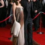 Brad Pitt and Angelina Jolie — Stock Photo #12989597