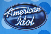 American Idol Logo at the American Idol Top 12 — Stock Photo