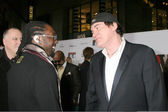 Will.i.am & Quentin Tarantino — Stock Photo
