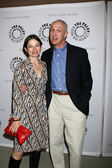 Justine Bateman & Michael Gross — Stock Photo