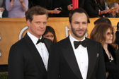 Colin Firth & Tom Ford — Stock Photo