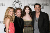 Sarah Michelle Gellar, Seth Green, Michelle Trachtenberg, and Nicolas Brendon — Stock Photo