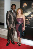 Hakeem Kae-Kazim & Wife — Stock Photo