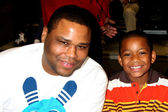 Anthony Anderson and Son — Stock Photo