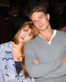 Yvonne Zima and Wilson Bethel — Stock Photo