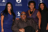 Solomon Burke and Daughter, granddaughters — Foto Stock