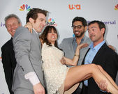 Natasha leggero, agent libre cast hommes — Photo