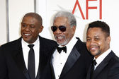 Forest Whitaker, Morgan Freeman and Cuba Gooding Jr — Stock Photo