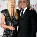Kelly Lynch & Husband Mitch Glazer — Stock Photo