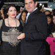 Book Author Stephanie Meyer & Director Chris Weitz — Stockfoto #12990563