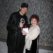 Phil Hellmuth Jr. & Patrika Darbo — Stock Photo