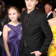 AnnaSophia Robb and Alexander Ludwig — Stock Photo