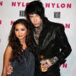 Brenda Song, Trace Cyrus — Stock Photo
