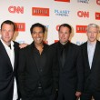 Lance Armstrong, Dr. Sanjay Gupta, Jeff Corwin and Anderson Cooper - Stock Photo
