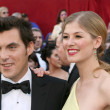 Joe Wright & Rosamund Pike - Stock Photo
