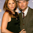 Daisy Fuentes & Fiance — Stock Photo