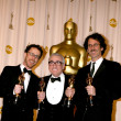 Joel & Ethan Coen , with Martin Scorsese - Stock Photo