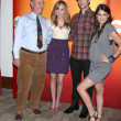 Larry Miller, Meaghan Martin, Ethan Peck, and Lindsey Shaw — Stock Photo #12998038