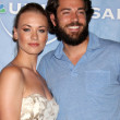 Yvonne Strahovski and Zach Levi — Stock Photo #12998455